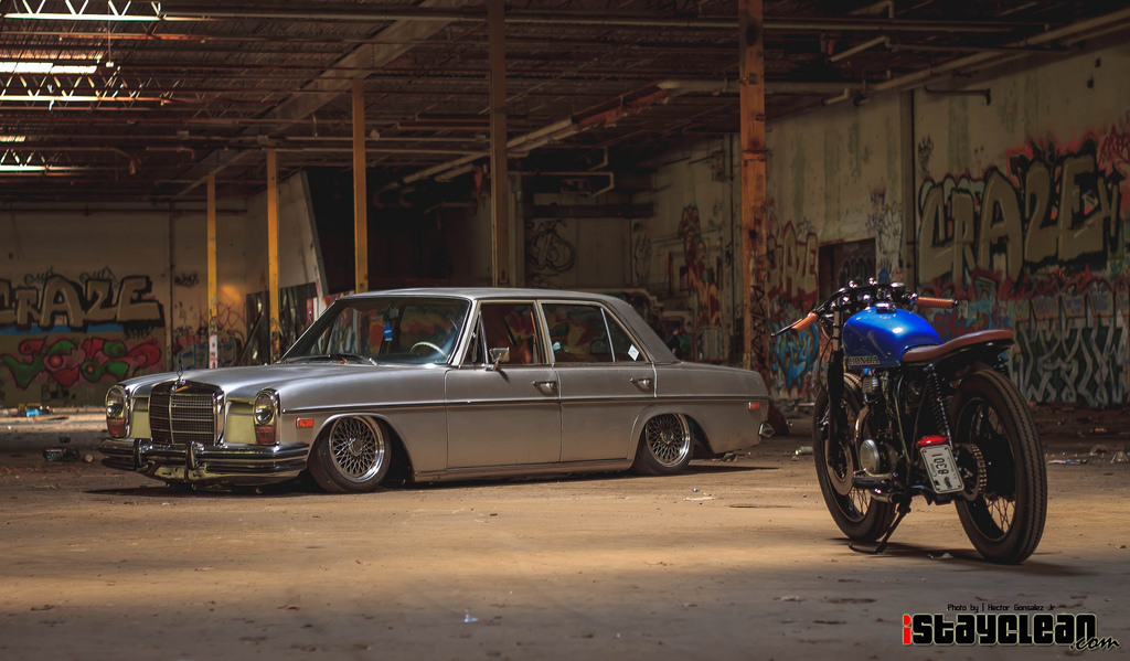 70s Benz and Honda Bike